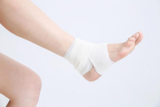 アキレス腱 包帯